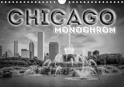 CHICAGO Monochrom (Wandkalender 2021 DIN A4 quer) von Viola,  Melanie