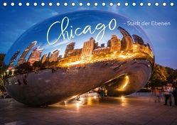 Chicago – Stadt der Ebenen (Tischkalender 2018 DIN A5 quer) von pageMaker,  YOUR, Schöb,  Monika