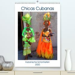 Chicas Cubanas – Kubanische Schönheiten (Premium, hochwertiger DIN A2 Wandkalender 2020, Kunstdruck in Hochglanz) von von Loewis of Menar,  Henning