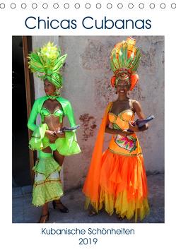 Chicas Cubanas – Kubanische Schönheiten (Tischkalender 2019 DIN A5 hoch) von von Loewis of Menar,  Henning