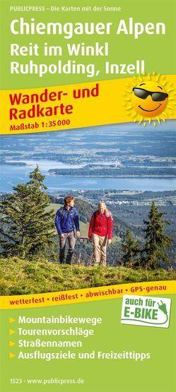 Chiemgauer Alpen, Reit im Winkl, Ruhpolding, Inzell
