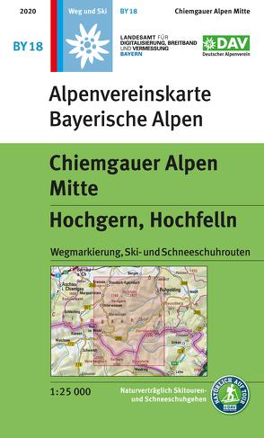 Chiemgauer Alpen, Mitte – Hochgern, Hochfelln