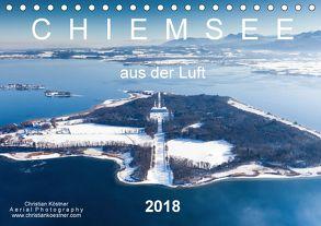 Chiemsee aus der Luft (Tischkalender 2018 DIN A5 quer) von Köstner,  Christian