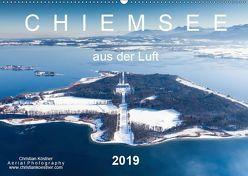 Chiemsee aus der Luft (Wandkalender 2019 DIN A2 quer)