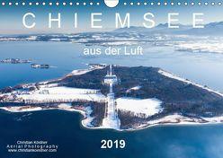 Chiemsee aus der Luft (Wandkalender 2019 DIN A4 quer)