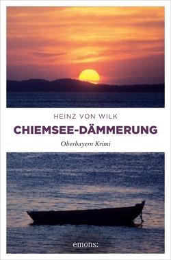 Chiemsee-Dämmerung von Wilk,  Heinz von