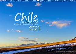 Chile DesConocido (Wandkalender 2021 DIN A2 quer) von Gysel Lenk,  David
