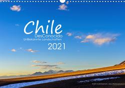 Chile DesConocido (Wandkalender 2021 DIN A3 quer) von Gysel Lenk,  David