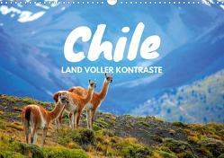 Chile – Land voller Kontraste (Wandkalender 2021 DIN A3 quer) von Tischer,  Daniel