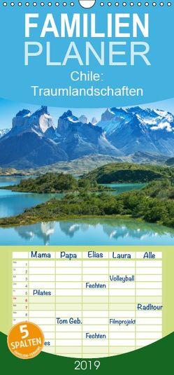 Chile: Traumlandschaften – Familienplaner hoch (Wandkalender 2019 , 21 cm x 45 cm, hoch) von CALVENDO