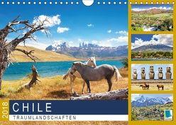 Chile: Traumlandschaften (Wandkalender 2018 DIN A4 quer) von CALVENDO,  k.A.
