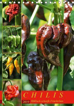 Chilis – Höllisch scharfe Früchtchen (Tischkalender 2019 DIN A5 hoch) von Cross,  Martina