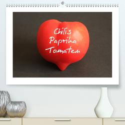Chilis Paprika Tomaten (Premium, hochwertiger DIN A2 Wandkalender 2020, Kunstdruck in Hochglanz) von Bildarchiv,  Geotop