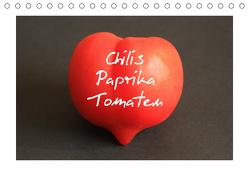 Chilis Paprika Tomaten (Tischkalender 2019 DIN A5 quer) von Bildarchiv,  Geotop