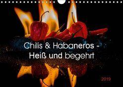 Chilis und Habaneros – Heiß und begehrt (Wandkalender 2019 DIN A4 quer) von Seibertz,  Juergen