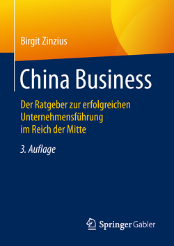 China Business von Zinzius,  Birgit