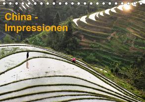 China-Impressionen (Tischkalender 2020 DIN A5 quer) von Burbach,  Hans-Peter