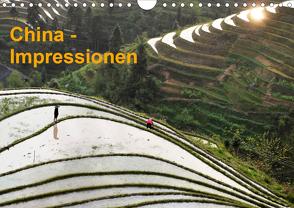 China-Impressionen (Wandkalender 2021 DIN A4 quer) von Burbach,  Hans-Peter