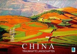 China: Traumhafte Landschaften (Wandkalender 2018 DIN A2 quer) von CALVENDO,  k.A.