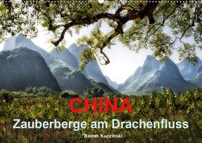 CHINA – Zauberberge am Drachenfluss (Wandkalender 2021 DIN A2 quer) von Kuczinski,  Rainer