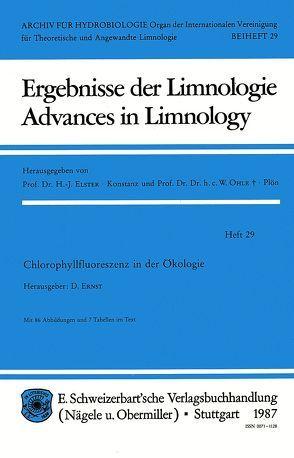 Chlorophyllfluoreszenz in der Ökologie von Ernst,  D
