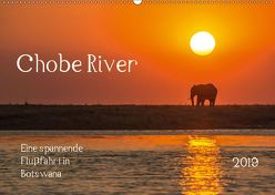 Chobe River – Eine spannende Flussfahrt in Botswana (Wandkalender 2019 DIN A2 quer) von Bethke,  Barbara