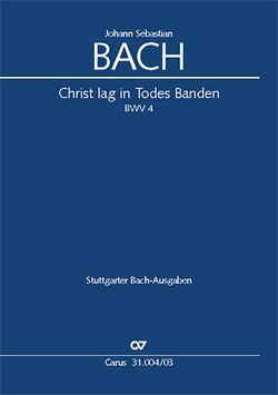 Christ lag in Todes Banden (Klavierauszug) von Bach,  Johann Sebastian