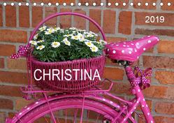 CHRISTINA – Namenskalender (Tischkalender 2019 DIN A5 quer) von SchnelleWelten