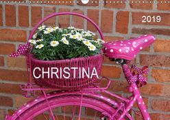 CHRISTINA – Namenskalender (Wandkalender 2019 DIN A3 quer) von SchnelleWelten