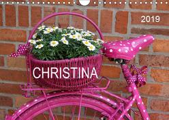 CHRISTINA – Namenskalender (Wandkalender 2019 DIN A4 quer) von SchnelleWelten