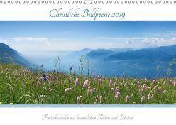 Christliche Bildpoesie 2019 (Wandkalender 2019 DIN A3 quer) von SusaZoom