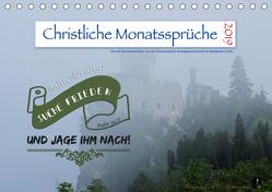 Christliche Monatssprüche 2019 (Tischkalender 2019 DIN A5 quer) von HC Bittermann,  Photograph