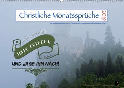 Christliche Monatssprüche 2019 (Wandkalender 2019 DIN A2 quer) von HC Bittermann,  Photograph