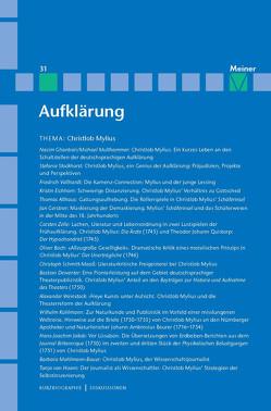 Christlob Mylius. Ein kurzes Leben in den Schaltstellen der deutschen Aufklärung von Ghanbari,  Nacim, Mulsow,  Martin, Multhammer,  Michael, Stiening,  Gideon, Vollhardt,  Friedrich