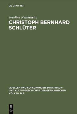 Christoph Bernhard Schlüter von Nettesheim,  Josefine