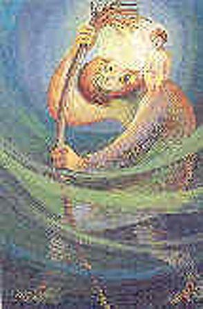 Christophorus, was wolltest du uns sagen, als du ein Kind durch Fluten hast getragen von Eder,  Margot, Frison,  Gabriele, Guggenmos,  Rosmarie, Hirschauer,  Monika, Kett,  Franz, Molnar,  Monika, Schenkel,  Erich, Schmidt,  Regina