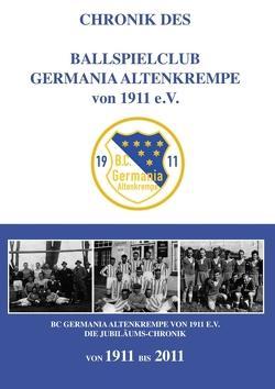 Chronik des Ballspielclub Germania Altenkrempe von 1911 e.V. von Masurek,  Hartmut