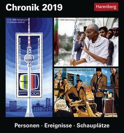 Chronik – Kalender 2019 von Harenberg, Pollmann,  Bernhard