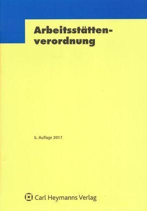 CHV 4-Arbeitsstättenverordnung