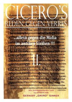 Cicero's Reden gegen Verres / Cicero's Reden gegen Verres II. von ginner,  gerhart