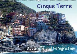 Cinque Terre – Aquarelle und Fotografien (Wandkalender 2019 DIN A2 quer)