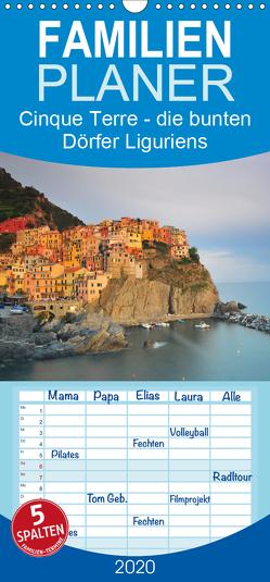 Cinque Terre – die bunten Dörfer Liguriens – Familienplaner hoch (Wandkalender 2020 , 21 cm x 45 cm, hoch) von Ratzer,  Reinhold