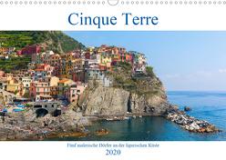 Cinque Terre – Fünf malerische Dörfer an der ligurischen Küste (Wandkalender 2020 DIN A3 quer) von Müller,  Christian