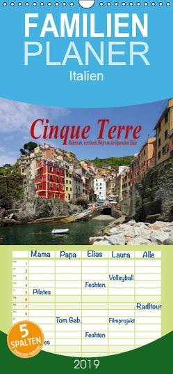 Cinque Terre – Malerische, verträumte Dörfer an der ligurischen Küste – Familienplaner hoch (Wandkalender 2019 , 21 cm x 45 cm, hoch) von LianeM