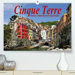 Cinque Terre – Malerische, verträumte Dörfer an der ligurischen Küste (Premium, hochwertiger DIN A2 Wandkalender 2021, Kunstdruck in Hochglanz) von LianeM
