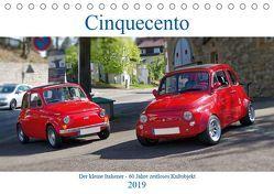 Cinquecento Der kleine Italiener – 60 Jahre zeitloses Kultobjekt (Tischkalender 2019 DIN A5 quer) von Eisold,  Hanns-Peter