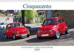 Cinquecento Der kleine Italiener – 60 Jahre zeitloses Kultobjekt (Wandkalender 2020 DIN A3 quer) von Eisold,  Hanns-Peter