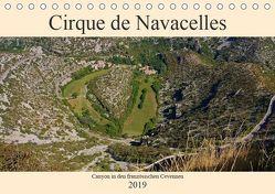 Cirque de Navacelles – Canyon in den französischen Cevennen (Tischkalender 2019 DIN A5 quer) von LianeM