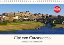 Cite von Carcassonne – Zeitreise ins Mittelalter (Wandkalender 2019 DIN A4 quer) von LianeM