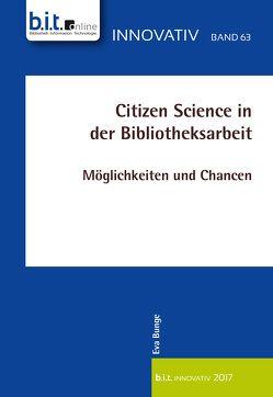 Citizen Science in der Bibliotheksarbeit von Bunge,  Eva